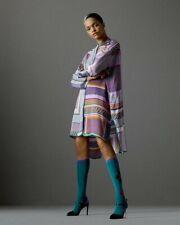 Zara Tile Print Patchwork Tunic/Shirt Oversized M/L