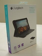 * NEW * Logitech Type-V Ellipsis 8 Protective Case Integrated Bluetooth Keyboard
