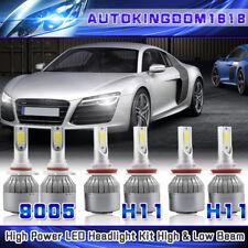 H11 9005 H11 LED Combo Headlight Hi Lo Beam Fog Bulb for GMC Mazda Toyota Lexus