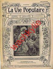 la vie populaire n°89 du 18/08/1903 Pape Pie X Huîtres perlières Insectes utiles