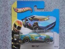 Hot Wheels 2013 # 085/250 Bote Vara Plástico Azul Hw Acrobacia Modelo Nuevo 2013