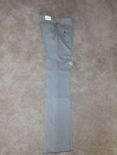 Mens 70s Vintage EP-RO Tab Pockets Checkered Black White 28x39 Slacks Pants!