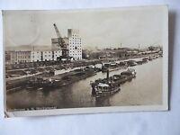 Ansichtskarte Heilbronn a.N. Neckarkanal 1937