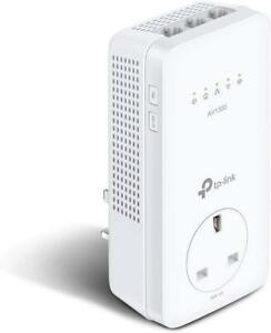 TP-Link TL-TL-WPA8631P AV1300 3-port Gigabit Powerline Wi-Fi  Single Adapter UK
