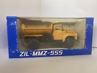 Soviet Era Zil 555 Dump Truck Made In USSR Diecast 1:43