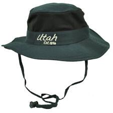 Utah Stato Blu Navy Booney Sole Cappello da Pescatore Mento Rete Band All   USA 535984cf24b6