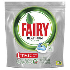 Fairy Platinum Caps All in One Pastiglie Lavastoviglie 70 Tabs Tutto in Uno
