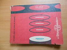 Pièces Catalogue Catalogue de pieces renault r1104 Trans des fluides fregate domaine 1959