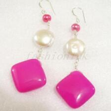 Pearl (Imitation) Lab-Created/Cultured Costume Earrings
