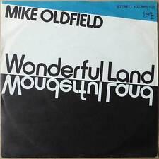 """7"""" Mike Oldfield - Wonderful Land - Deutschland 1981 - RARE Labelpressung  NM"""