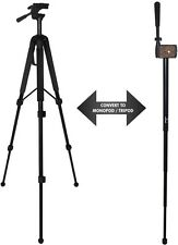 "68"" Ultra Convertible Tripod/Monopod For PANASONIC HDC-SD800K Lumix DMC-FZ150K"