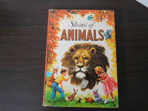 STORIES OF ANIMALS by Virginia Cunningham; HB 1947; Whitman Publishing