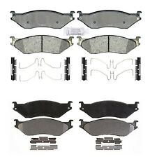 Front & Rear Semi-Metallic Brake Pad Sets Kit ACDelco PRO For Ford F53 2006-2007
