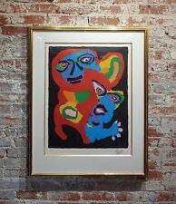 Karel Appel -Chien De Face -Original Artist Proof -Signed