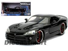 Fast & Furious Letty's Dodge Viper Srt10 Diecast Model Car 30731 Black 1 24