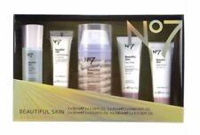 No7 BEAUTIFUL SKIN COLLECTION GIFT SET IN A PRESENTATION BOX, IMPERFECT BOX