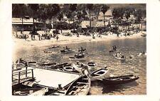 RPPC Small Row Boats Along the Shoreline of Catalina Island, California~114581
