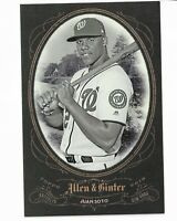 2019 Allen & Ginter Baseball Box Loader/ Box Topper Juan Soto Washington