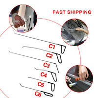 PDR Rods Hook Tools Paintless Dent Repair Car Dent Ring Removal PDR Tools C Kit
