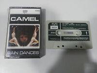 CAMEL RAIN DANCES K7 CINTA TAPE CASSETTE - DECCA 1981 SPANISH EDITION PAPER LAB