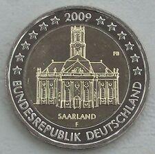 2 euro Allemagne 2009 F sarre unz