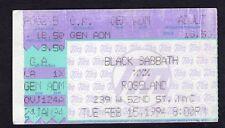 Original 1994 Black Sabbath Motorhead Concert Ticket Stub Roseland Ballroom NY