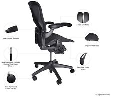 Fully Loaded Herman Miller Classic Aeron chair Size B (Free Hardwood caster)