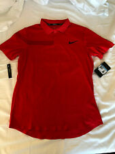 NikeCourt Advantage RF Federer Men Tennis Shirt - rot - 888202-634 - Gr. M - NEU