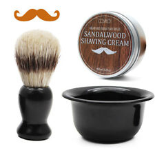Beard Shaving Gift Kit | Beard Shave Soap | Beard Shave Brush | Beard Shave Bowl