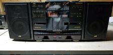 Vintage Jvc Cd Changer System/Am/Fm Radio/Dual Cassette Pc-X1000