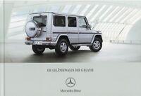 0329MB Mercedes G-Klasse Prospekt 2007 2/07 G 320 CDI 500 55 AMG Allrad brochure