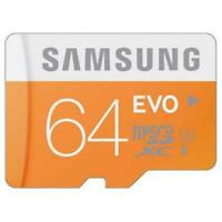 SAMSUNG EVO 64GB MICROSD MEMORY CARD MICRO-SDXC HIGH U7S for PHONE / TABLETS