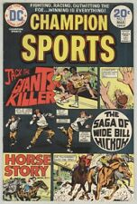 Champion Sports #3 February 1974 VG/FN