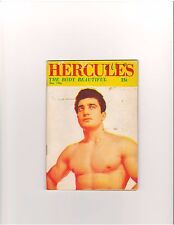 Gay Art Hercules Body Beautiful Muscle Mag/Premiere Issue vol 1 #1 Theseus 12-56