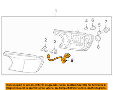 Buick GM OEM 04-07 Rainier Headlamp-Front Lamps-Connector 88988700