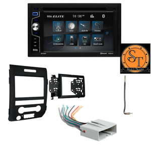 2009-2014 FORD F150 TOUCHSCREEN BLUETOOTH CD/DVD STEREO PACKAGE