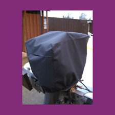 Waterproof Vented Outboard Motor Boat Engine Cover 30-90 HP Size 4 Red UK Made