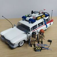 PlayMobil GhostBusters Ecto 1 Playset w/ Winston & Janine & accessories Xmas