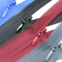 """Invisible Zips, 6"""" to 26"""" - Concealed zippers for dress, skirts, cushions"""