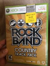 Rock Band: Country Track Pack (Microsoft Xbox 360, 2009)