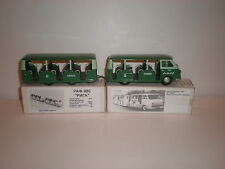 1/43 Set of Two small buses TAXI RAF-979 & RAF-980