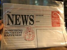 New! Cub Reporter, Make your own newspaper, Discovery Toys,