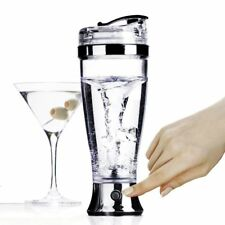 Electric Shaker Portable Stainless Steel Battery Power Stirring Mug Food Blander