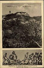 Freyburg Unstrut Sachsen-Anhalt 1924 Neuenburg Burg Landgraf gelaufen Oberfrohna