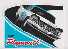 Richard Petty '59 Plymouth Official Racing Decal D422