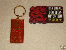 FLORIDA SPLENDID CHINA  Dragon Keychain & Magnet