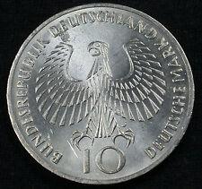 "1972 J 10 DM Munich Olympics 62.5% Silver Commemorative ""Flame"" Design"