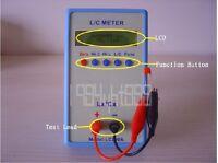 0.01pF-10uF 0.001uH-100mH Handheld  L/C Inductance Capacitance Meter H-Precision