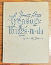 """Vintage 1946 """" A Young Boy's Treasury Of Things To Do """" Caroline Horowitz Good"""