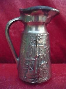 Bella, Massiccia Bronze-Vase__Brocca__Qualitäts-bronze__Barche Vela __ ü.1 ,